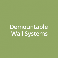 demountable wall systems